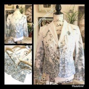 Anthropologie Sea Nettle Jacket Blazer
